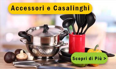 Casalinghi e accessori cucina