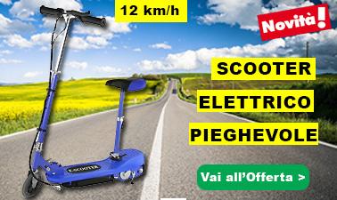 scooter elettrico per il traffico estivo